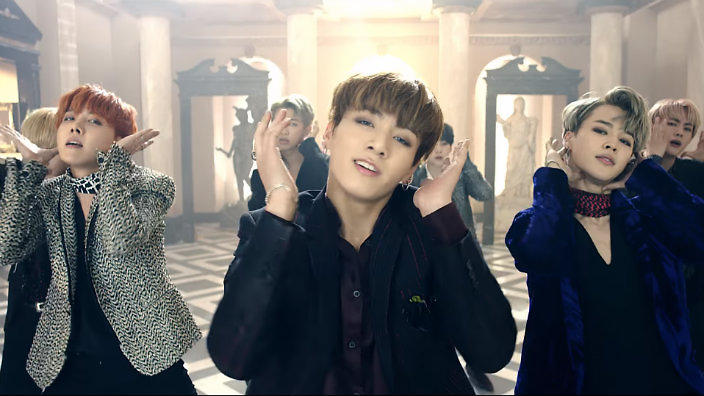 VIDEO: BTS shed some 'Blood, Sweat & Tears' in brand new MV | SBS