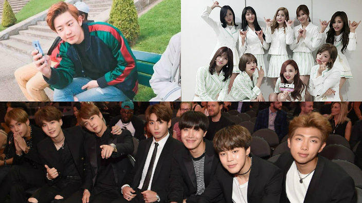 BTS, TWICE, BIGBANG, Chanyeol and more score early noms at the 2017