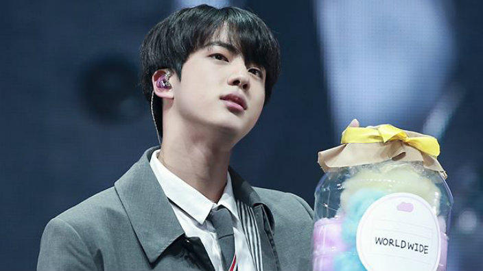 bts jin shall now be also known as the it s him again guy sbs
