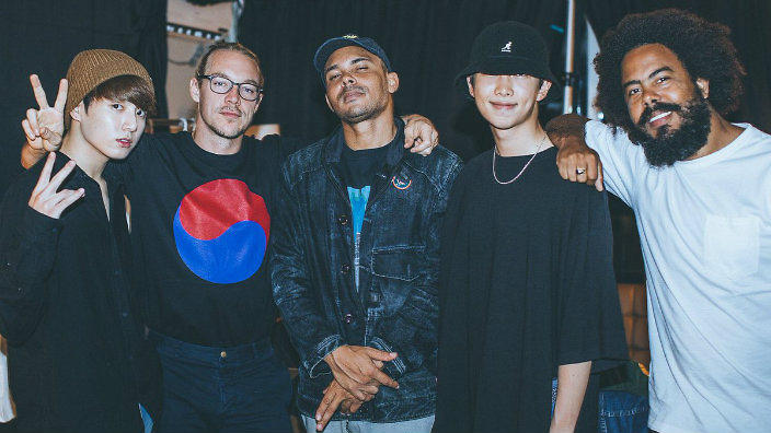 BTS' Rap Monster and Jungkook feature in new MAJOR LAZER