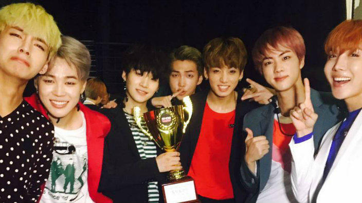 BTS thank fans for their 1st 'Blood, Sweat, & Tears' win