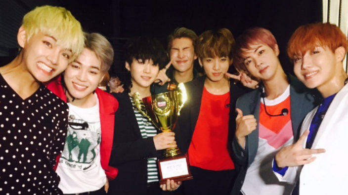 VIDEO: BTS take 1st 'Blood, Sweat, & Tears' win on 'Show Champion