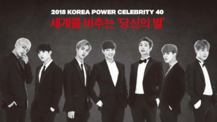Forbes Korea Announces Top 40 Power Celebrities Of 2018 ...