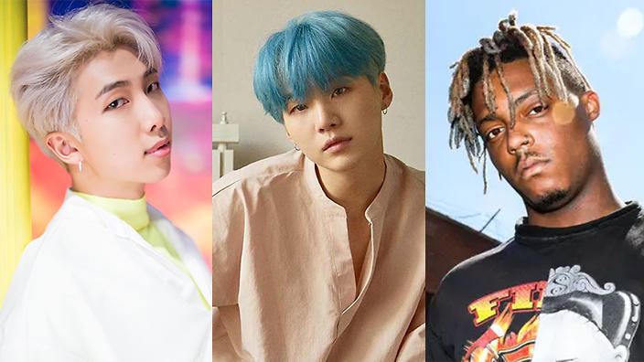 BTS' RM and Suga collab with Juice WRLD on third BTS WORLD