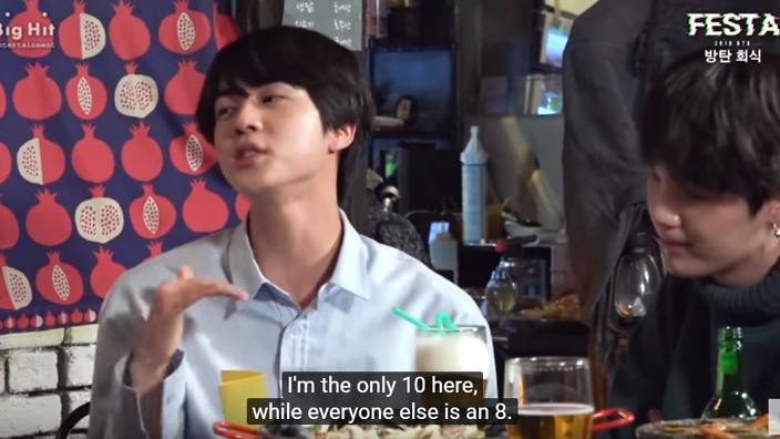 things bts jin has said that seem fake but really aren t sbs