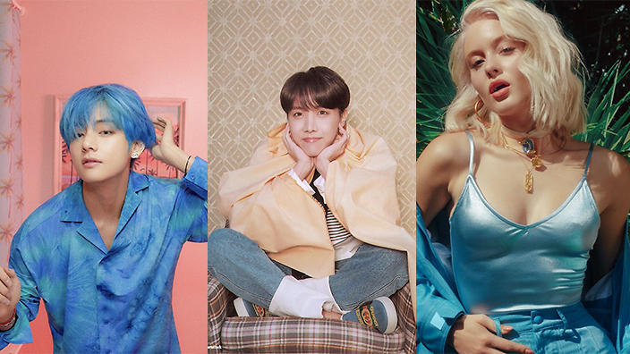 Next BTS WORLD collab to feature J-Hope, V and Zara Larsson