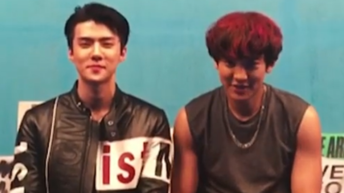EXO's Chanyeol and Sehun to release new song | SBS PopAsia