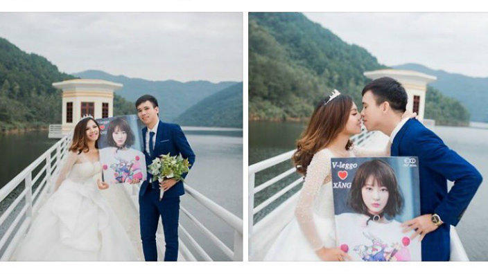 Boy And Girl Meet Fall In Love Get Married And Its All Thanks To A Giant Exid Pic