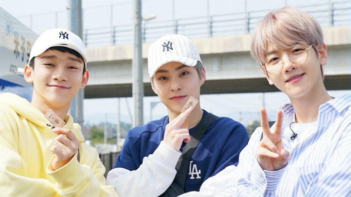 EXO-CBX are starring in a new travel show