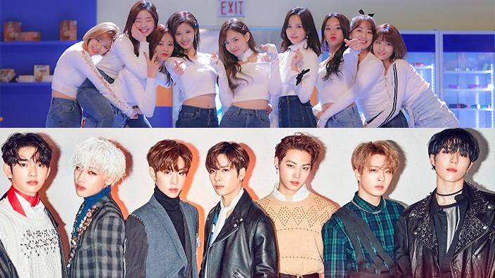 GOT7, TWICE and more JYP artists are now on Aussie Spotify! | SBS