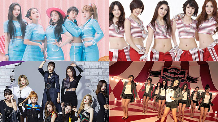 The 10 best-selling K-pop girl groups of all time in Korea