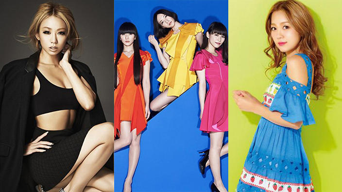 Who's the top female J-pop artist after Namie Amuro's