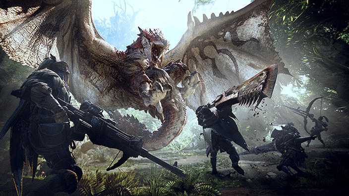 Monster Hunter: World' is the unofficial Jurassic Park game