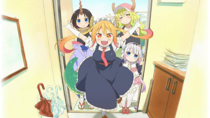 Best Cycling App >> REVIEW: Miss Kobayashi's Dragon Maid is as ridiculously charming as that title sounds. | SBS PopAsia