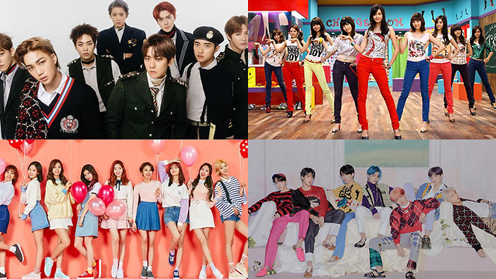 The 14 K-pop artists with the most music show wins | SBS PopAsia