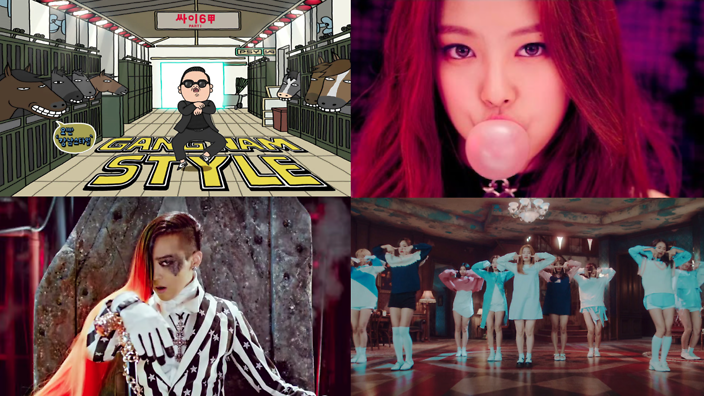 Top 10 most viewed K-pop music videos of all time | SBS PopAsia