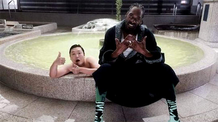 Psy and snoop dogg teaser