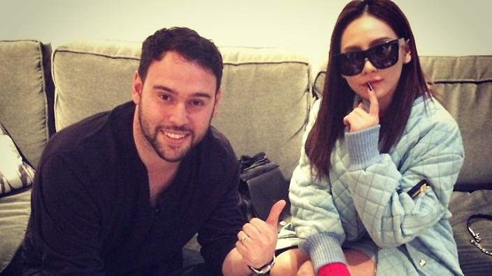 Image result for CL SCOOTER BRAUN