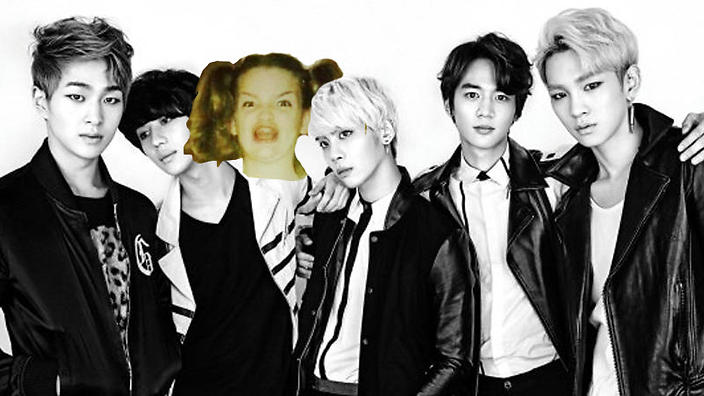 SHINee 2014 with ermagherd girl
