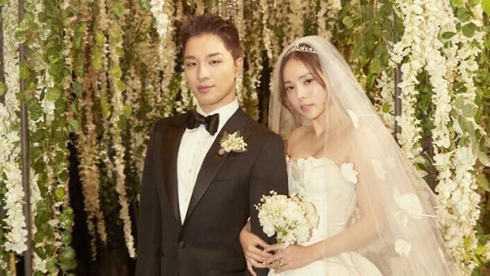 Big bang taeyang wedding dress live