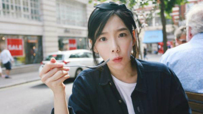 Taeyeon Goofed Around In London And Now There S A New