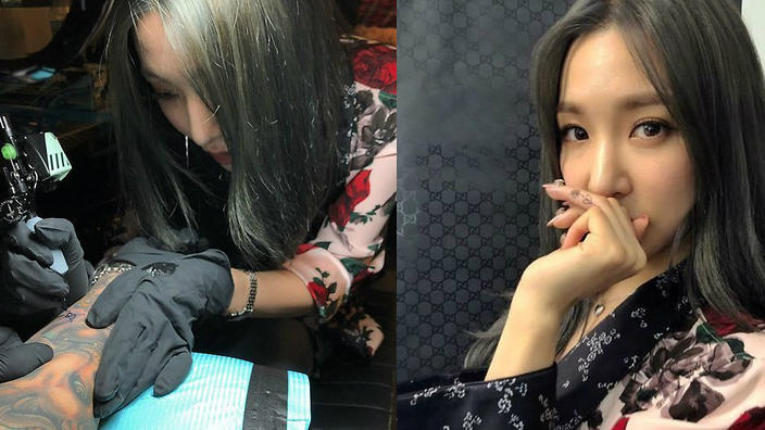 Tiffany Sutton Tattoo Artist: Girls' Generation's Tiffany Is A Tattoo Artist Now?