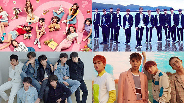 Top 10 K-pop groups with highest album revenues in 2018 so