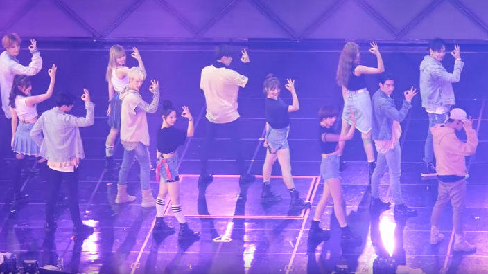 VIDEO: TWICE performs at their first ever JYP Nation concert
