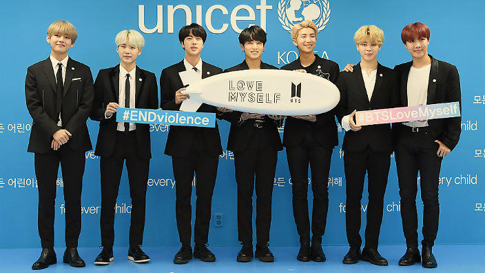 bts to announce new unicef agenda at united nations