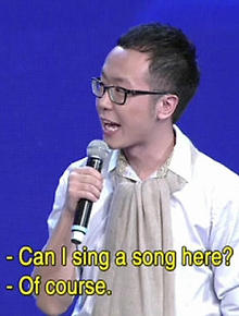 If you are the one chinese dating show song