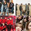 Black Pink, GOT7, EXO, Girls' Generation