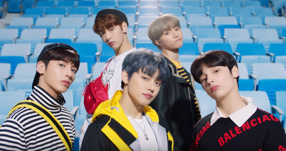 TXT announce new fandom name | SBS PopAsia