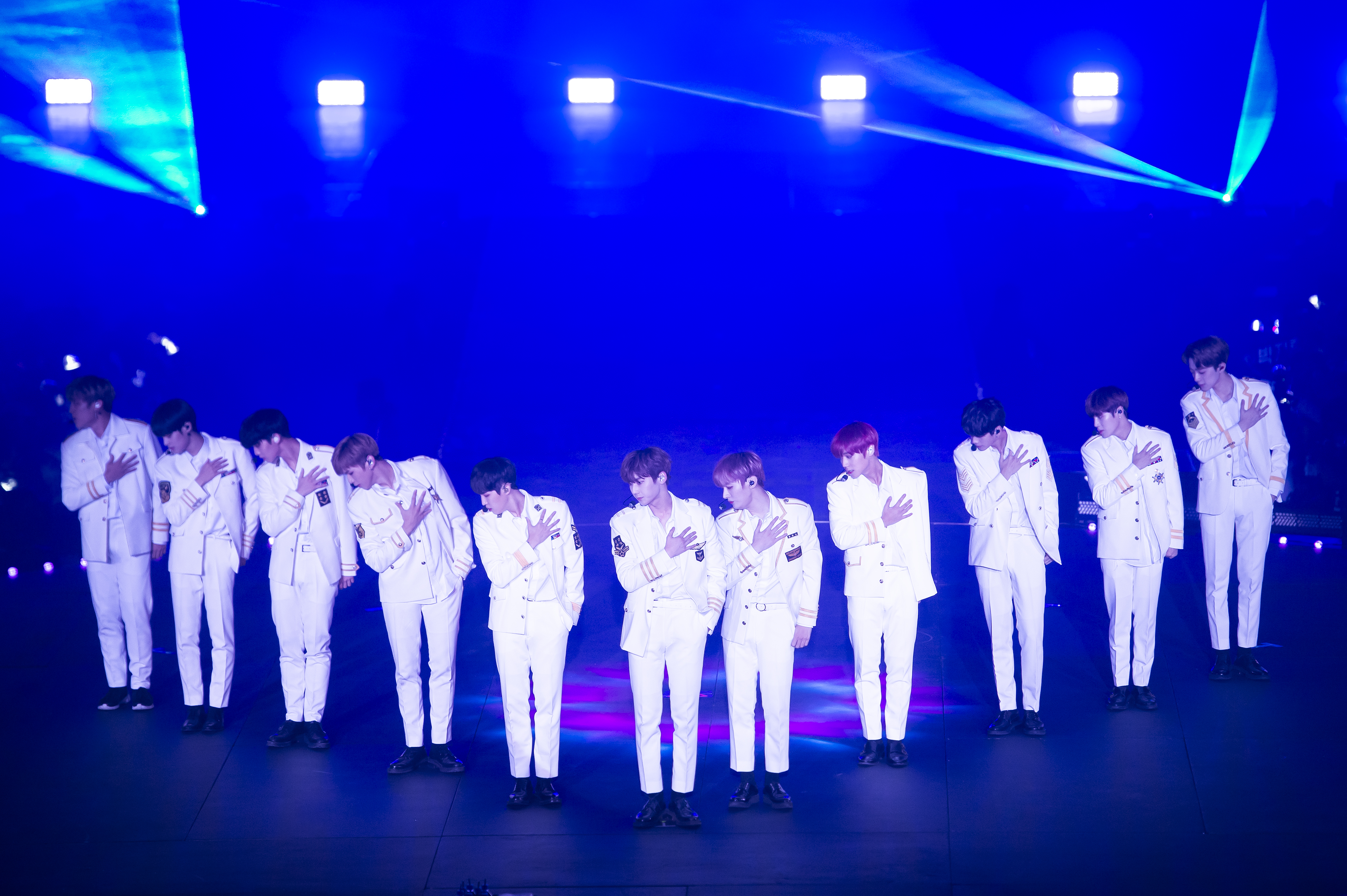 7 memorable moments from wanna one s melbourne show sbs popasia
