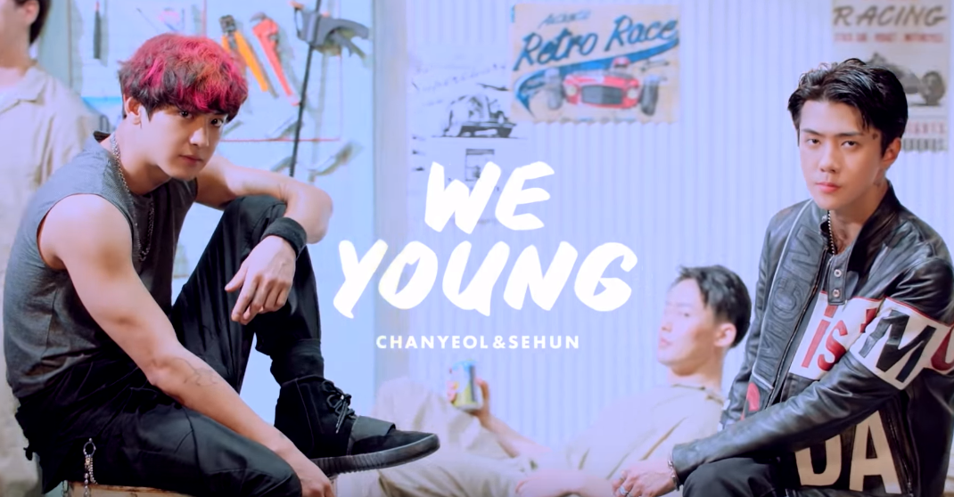 Watch Exo S Chanyeol And Sehun Tease Collab Quot We Young