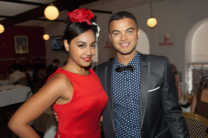 Celebrities Attend Emirates Doncaster Day
