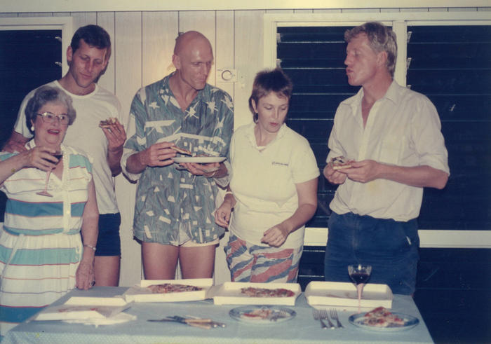 Peter Garrett family photo