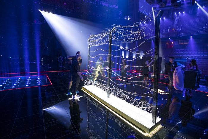 backstage rehearsals at eurovision