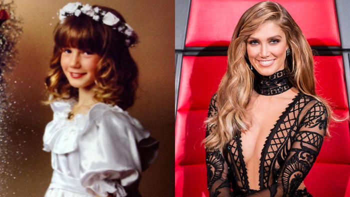 Delta Goodrem then and now