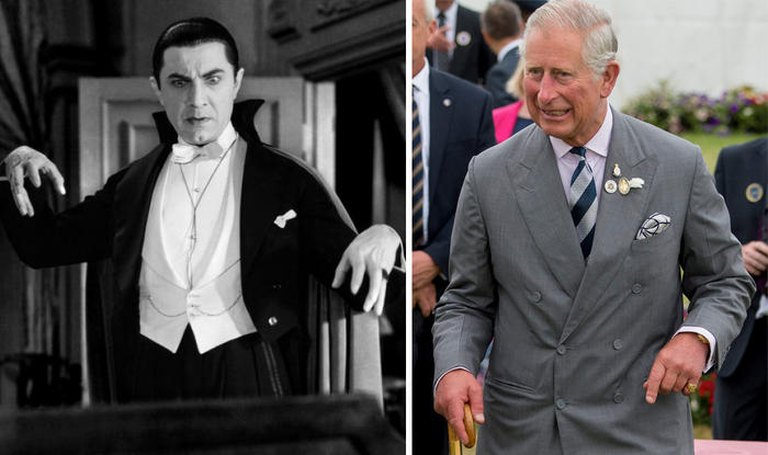 Prince Charles and Count Dracula