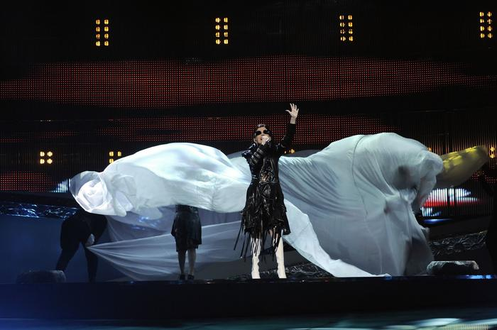 eurovision performing