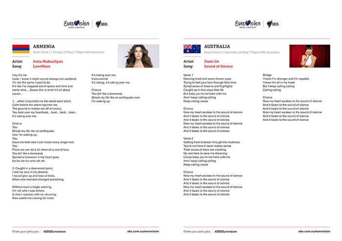 Eurovision songbook