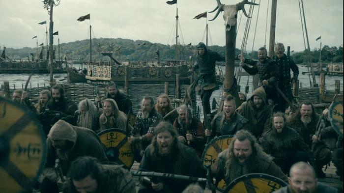 Vikings TV series, Paris siege