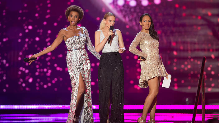 The hosts at Semi Final 2, Eurovision 2015