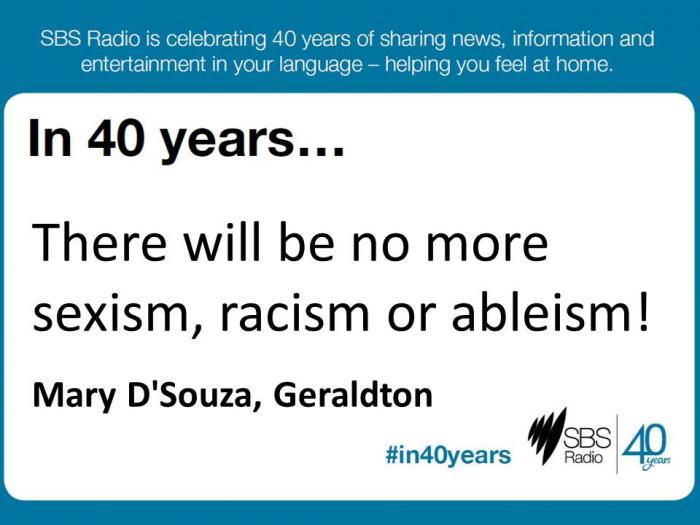 #in40years SBS Radio