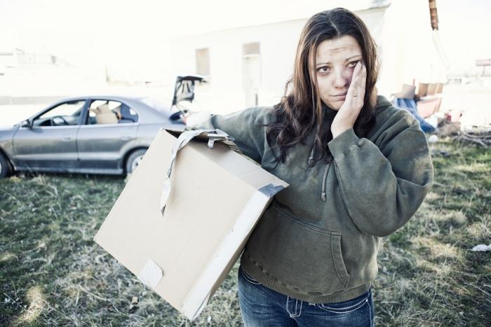 Homeless Woman Getty Images 143922926