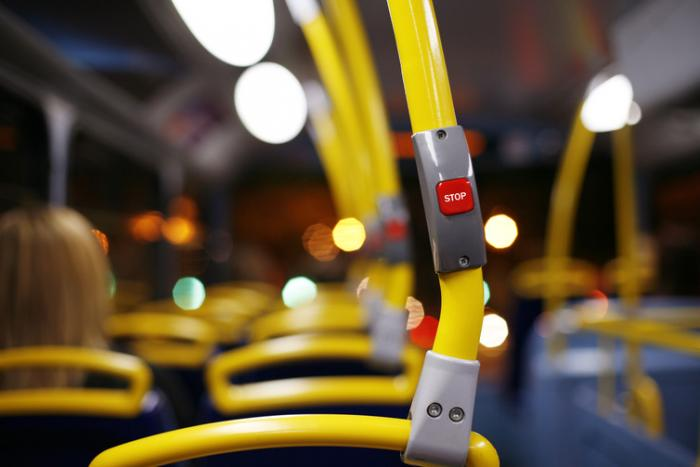 public transport can spread germs