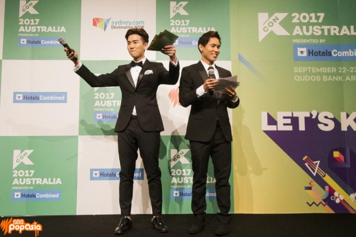 KCON Australia red carpet day 1