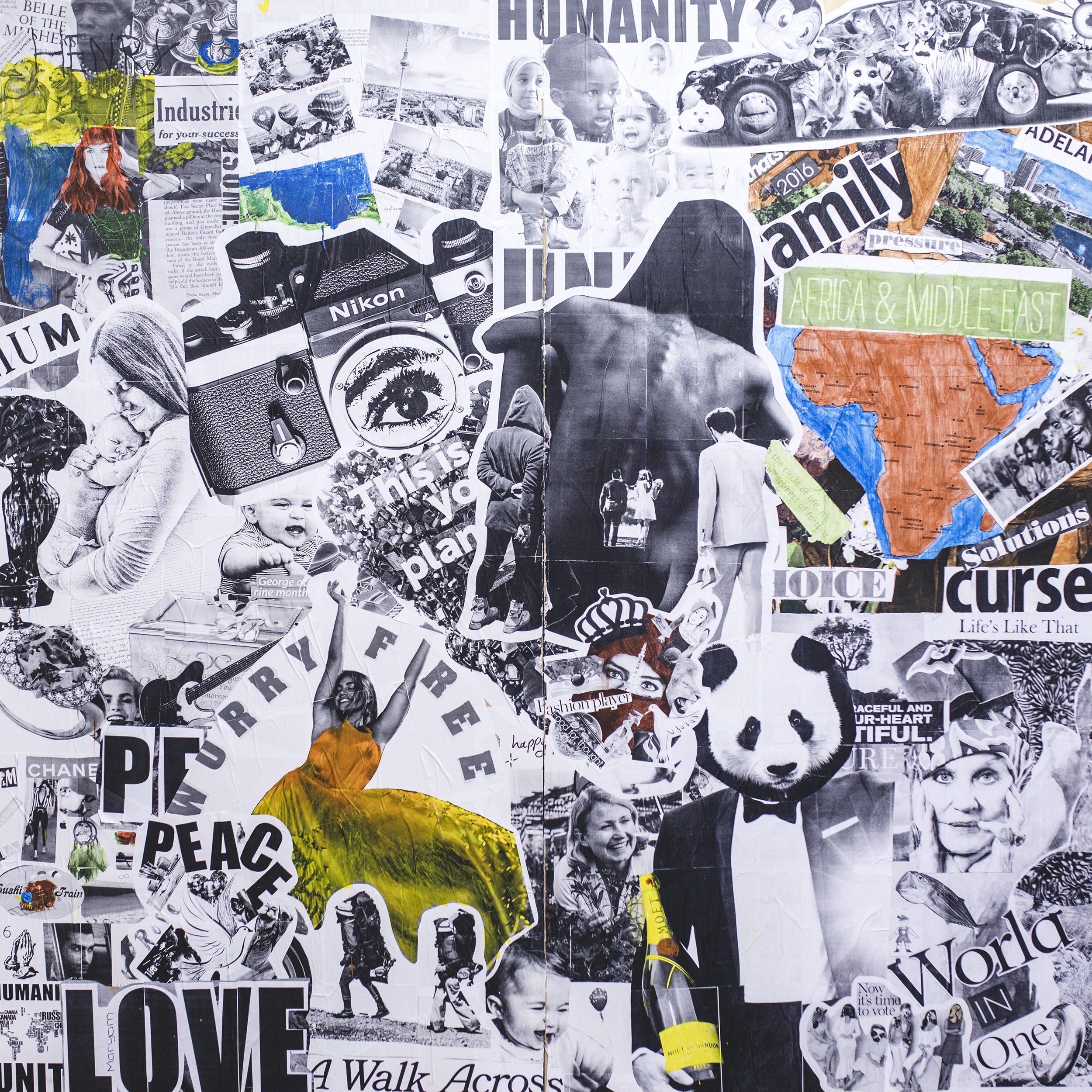 Run a paste up workshop with Ben Frost | SBS HOMEPAGE