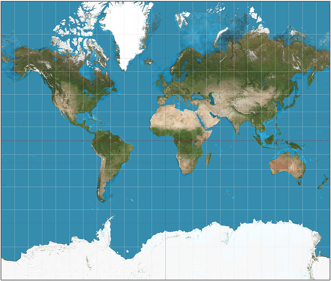 Heres why the most common map of the world is totally wrong SBS