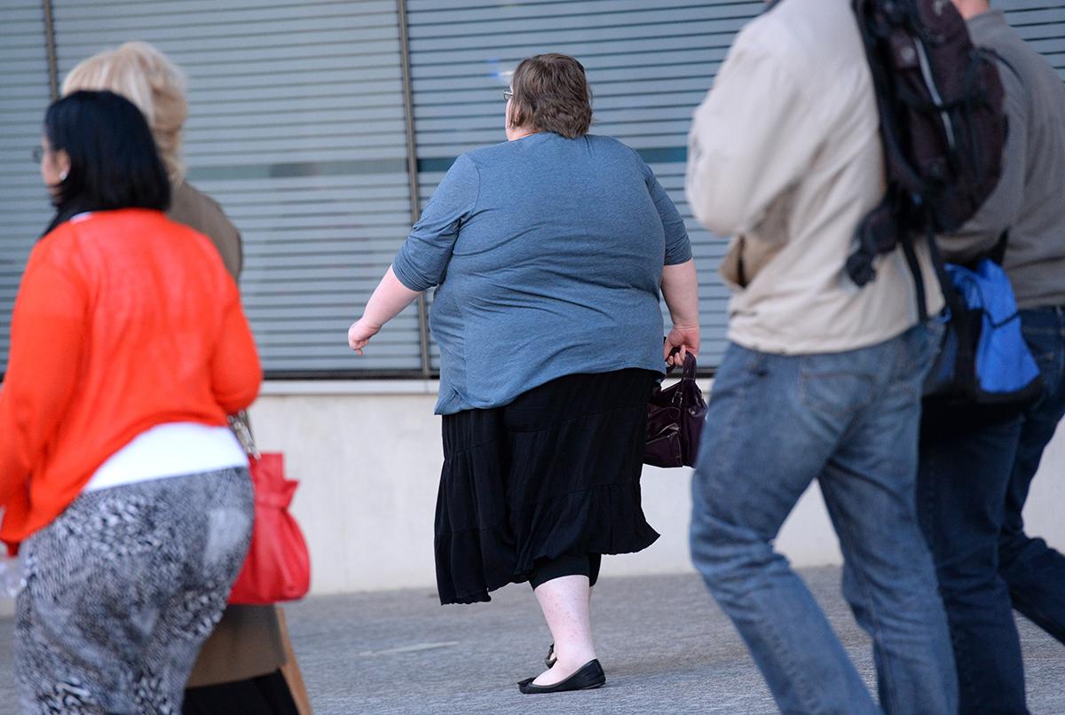"""Most people in Australia believe that obesity is self-induced."" ((AAP Image/Dan Peled))"